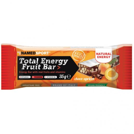 NAMEDSPORT Total Energy Fruit Bar Choco Apricot 35g