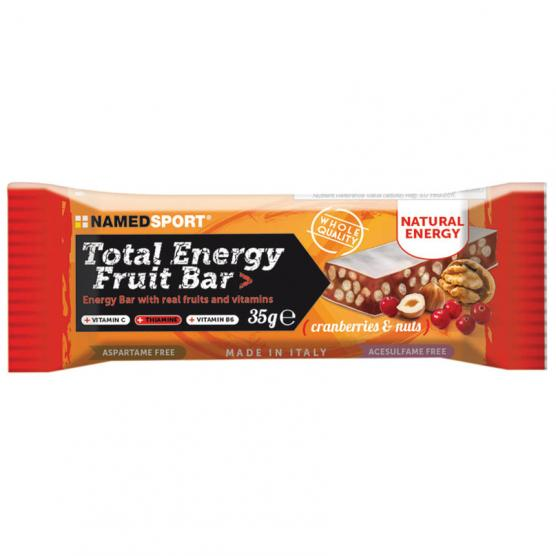 NAMEDSPORT Total Energy Fruit Bar Cranberry Nuts 35g