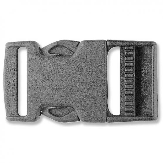 TREM DOUBLE CLOSING BUCKLE WITH SIDE BUTTONS 30MM