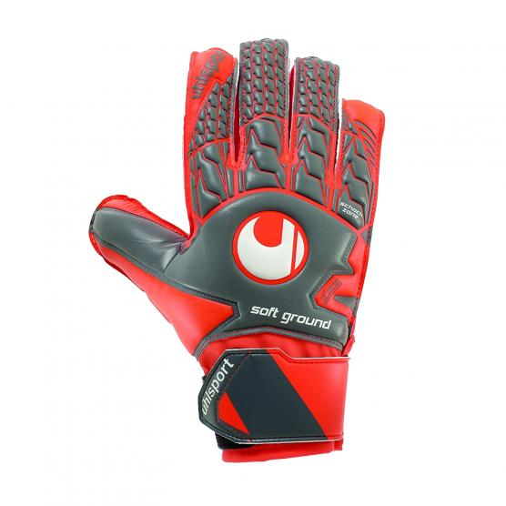UHLSPORT AERORED SOFT ADVANCED GRIGIO SCURO/ROSSO