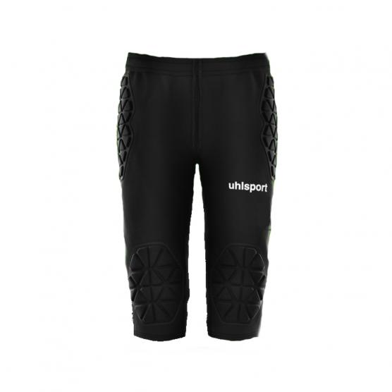 UHLSPORT ANATOMIC GOALKEEPER LONGSHORTS 3/4 01 NERO