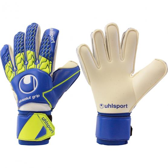 UHLSPORT ELIMINATOR ABSOLUTGRIP BLU/GIALLO FLUO