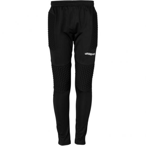 UHLSPORT JR STANDARD GOALKEEPER PANTS 01 NERO