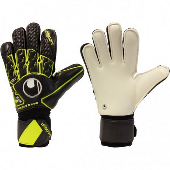 UHLSPORT SUPERSOFT SF + NERO/GIALLO FLUO