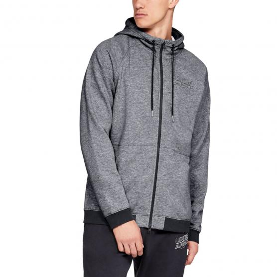 UNDER ARMOUR BASELINE FLC FULL ZIP HOODY