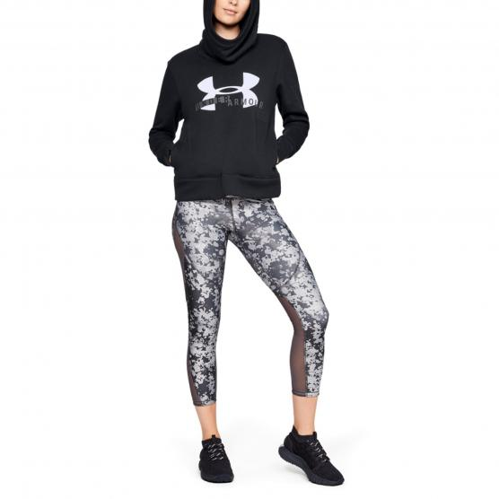 UNDER ARMOUR COTTON FLEECE SPORTSTYLE LOGO HOODIE 602