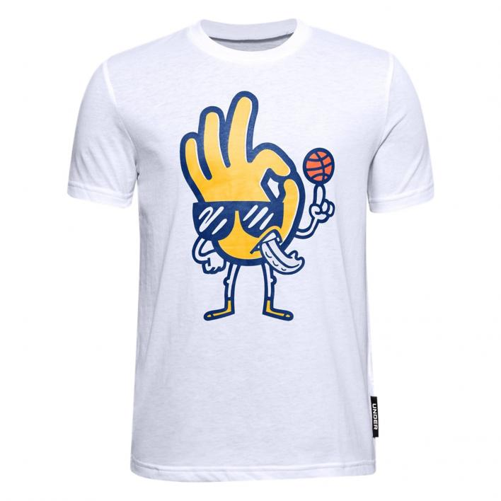 UNDER ARMOUR CURRY B FREEHAND EDDY TEE