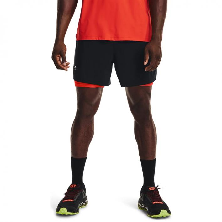 UNDER ARMOUR ISO-CHILL RUN 2IN1 SHORT