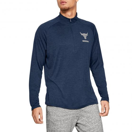 UNDER ARMOUR PROJECT ROCK TECH 1/2 ZIP