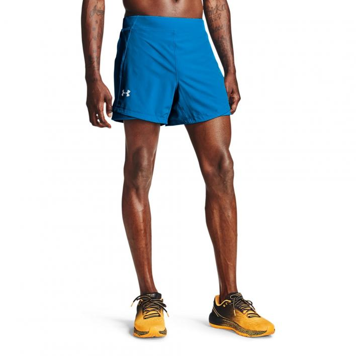 UNDER ARMOUR QUALIFIER SPEEDPOCKET 5 SHORT