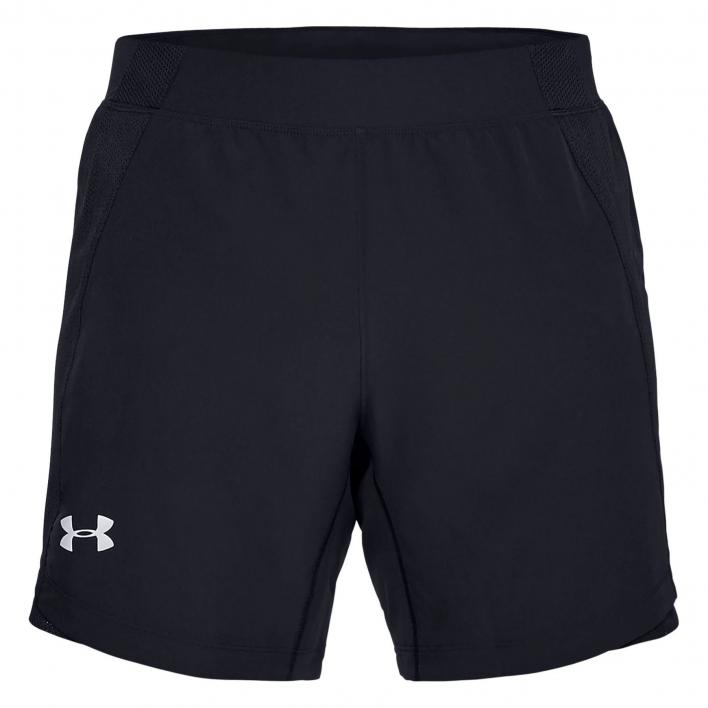 UNDER ARMOUR QUALIFIER SPEEDPOCKET 7 SHORT