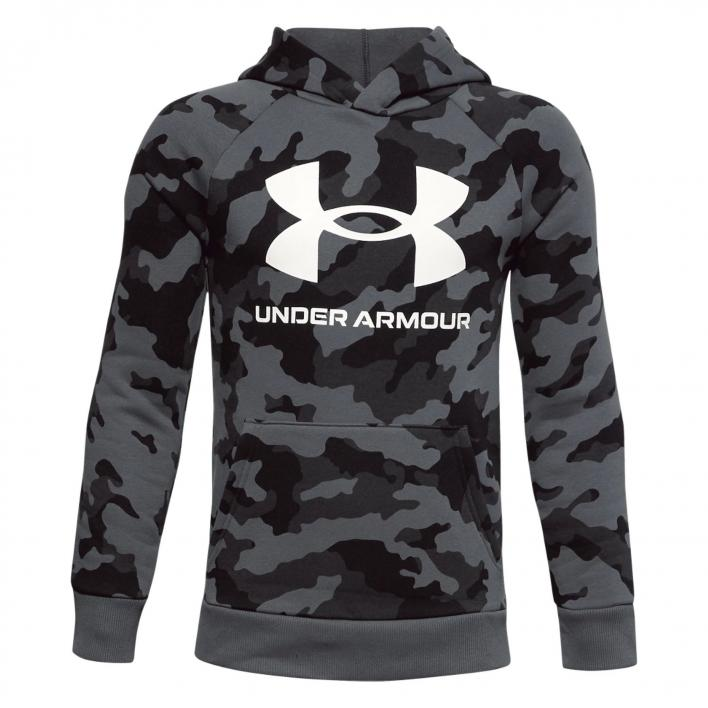 UNDER ARMOUR RIVAL FLEECE PRINTED HOODIE