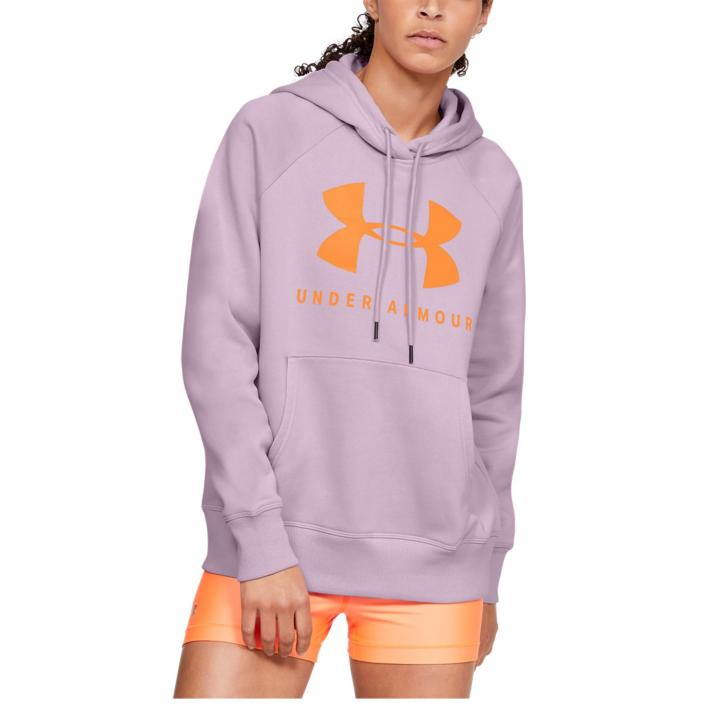 UNDER ARMOUR RIVAL FLEECE SPORTSTYLE GRAPHIC HOODI
