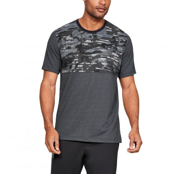 UNDER ARMOUR SPORTSTYLE COTTON MESH TEE