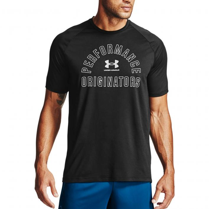 UNDER ARMOUR TECH GRAPHIC SI SS 2