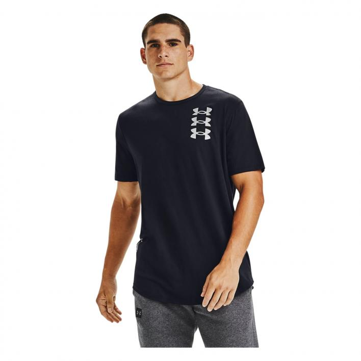 UNDER ARMOUR TRIPLE STACK LOGO SS