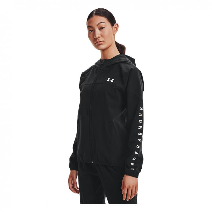 UNDER ARMOUR WOVEN HOODIE JACKET