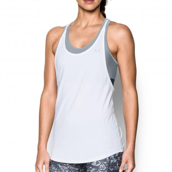 UNDERARMOUR 2 IN 1 SOLID TANK