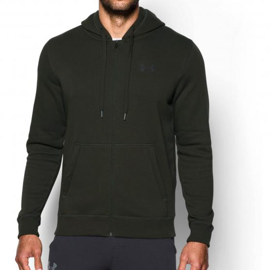 UNDERARMOUR RIVAL FITTED FULL ZIP