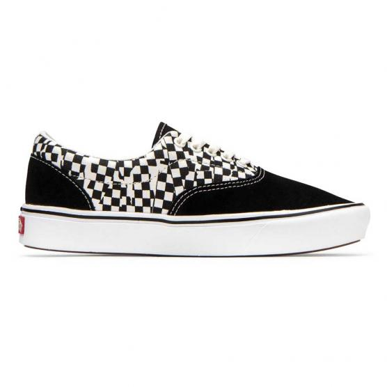 VANS ERA TEAR CHECK BLK/TRUE WHT