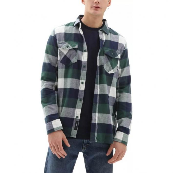 VANS MN BOX FLANNEL PINE NEEDLE/DRESS Blau