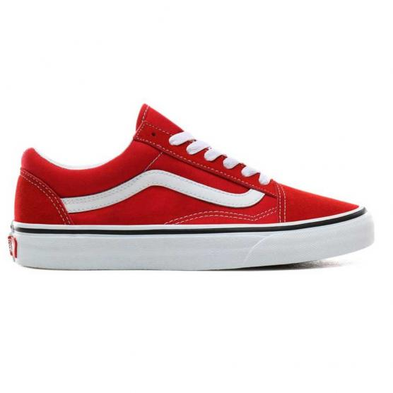 VANS OLD SKOOL RACING RED/TRUE WHITE