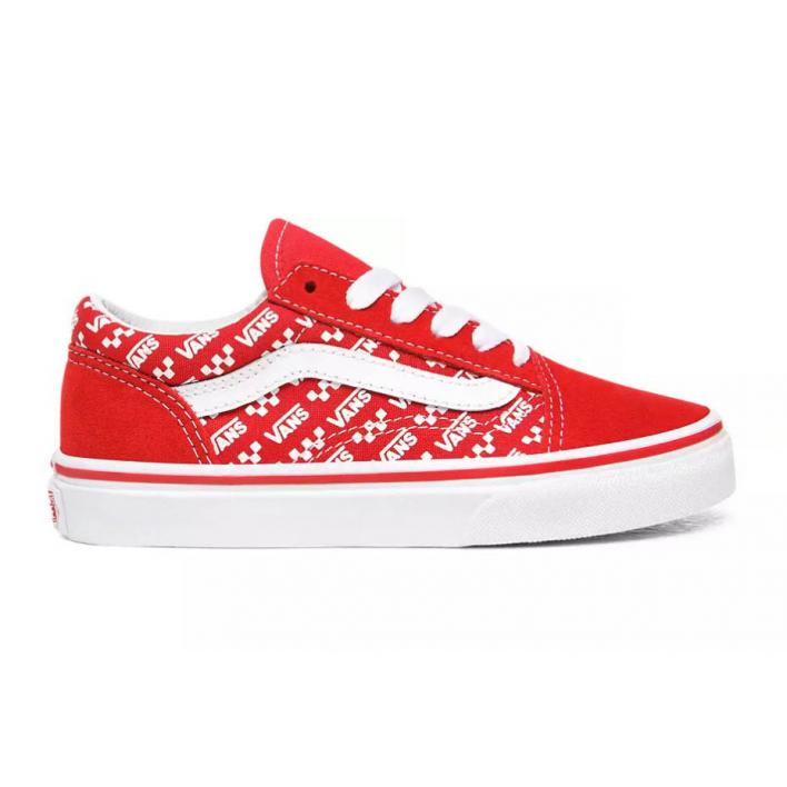 VANS OLD SKOOL REPEAT RED PS