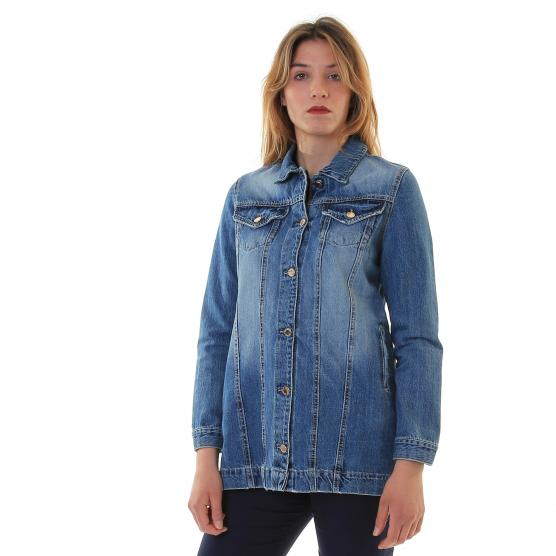 VERY SIMPLE JKT DENIM A0166