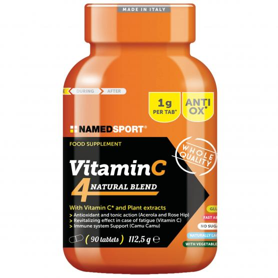 NAMEDSPORT Vitamin C 4Natural Blend 90cpr