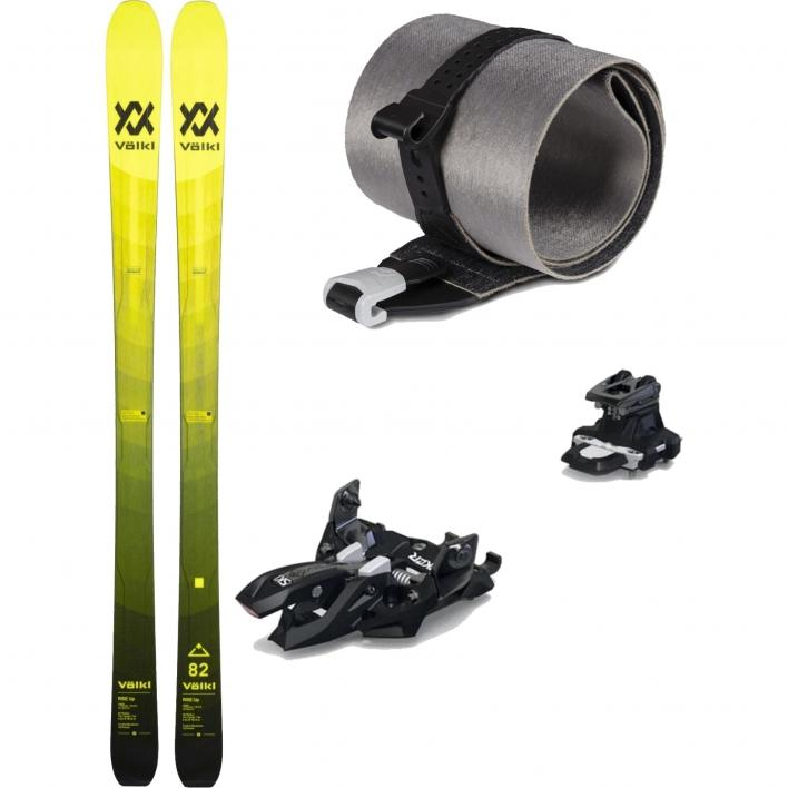 VOLKL RISE UP 82 SET: Sci Rise Up 82 + Skin Rise Up 82 + Attacco Marker Alpinist 9