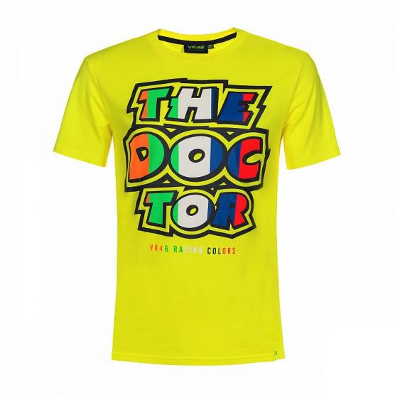 VR46 T-SHIRT STRIPES