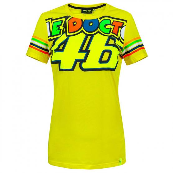 VR46 The Doctor 46 Woman T-Shirt