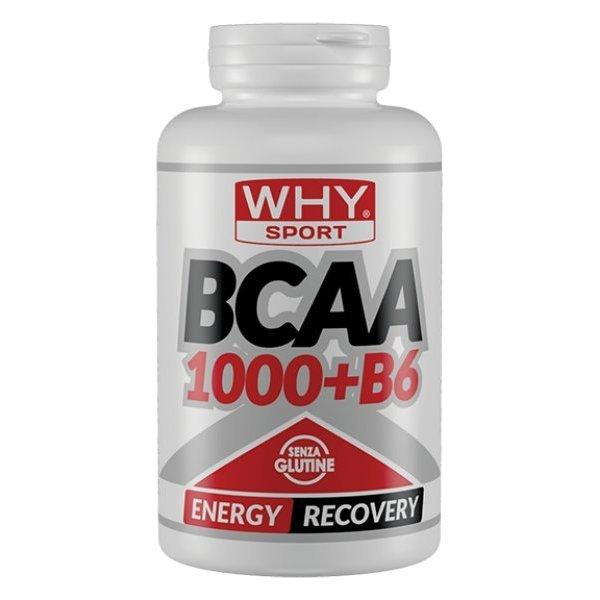 WHY SPORT BCAA1000 + B6 300cpr