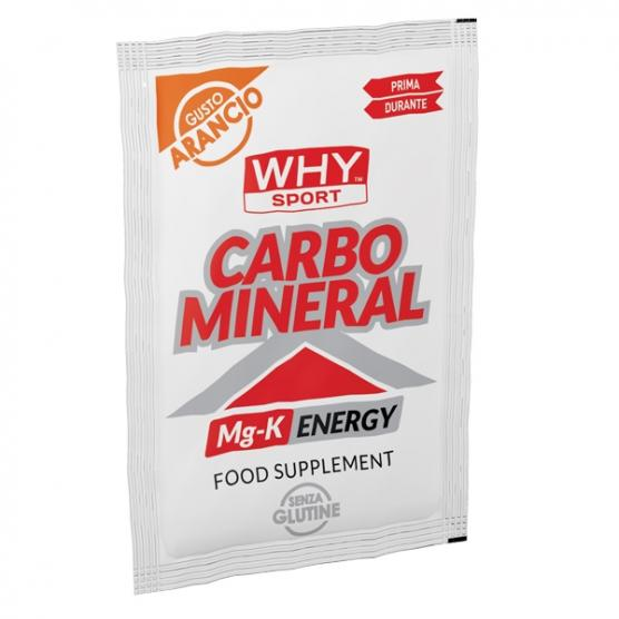 WHY SPORT Carbo Mineral Arancia