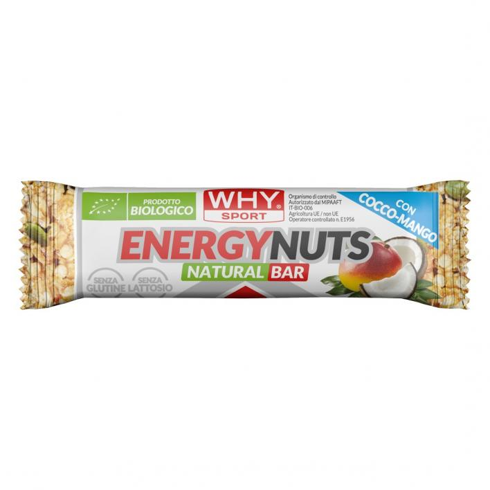 WHY SPORT Energy Nuts Cocco-Mango