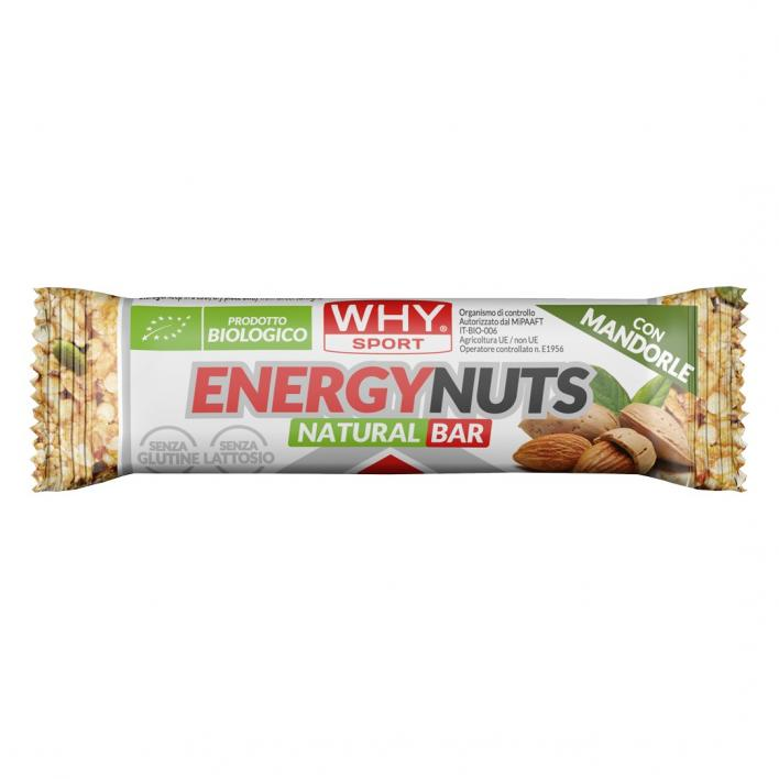 WHY SPORT Energy Nuts Mandorle