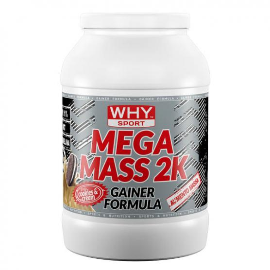 WHY SPORT Mega Mass Wafer Cookie e Cream