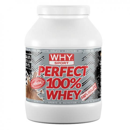 WHY SPORT Perfect Whey 100% 750 Choco-Coffee