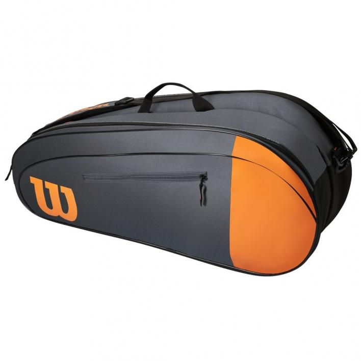 WILSON BURN TEAM 6PK TENNIS BAG