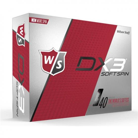 WILSON DX3 SPIN SOFT 12-BALL
