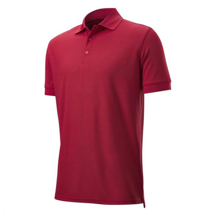 WILSON MENS AUTHENTIC POLO RED