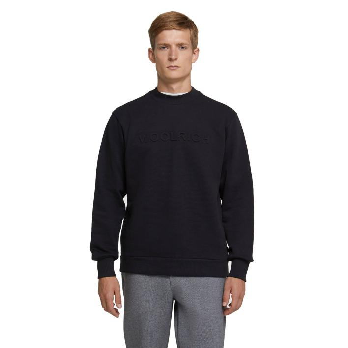 WOOLRICH BRUSHED CREW NECK