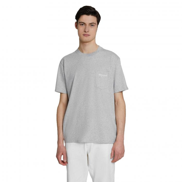 WOOLRICH POCKET TEE