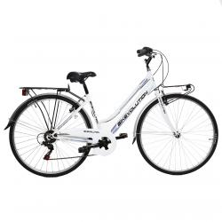 bikevolution city bike 28'' donna 6v