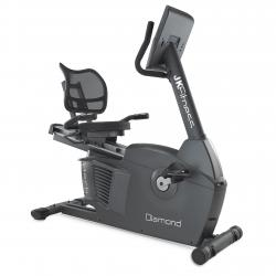 jk fitness d 40 cyclette orizzontale professionale