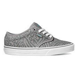 vans atwood canvas animal grey 141605