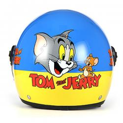 bhr 713 junior helmet tom and jerry