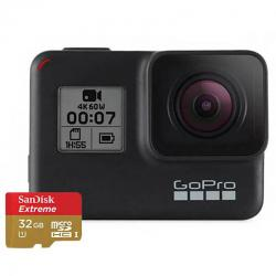 GO PRO HERO7 BLACK WITH SD CARD