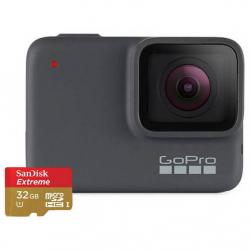 GO PRO HERO7 SILVER WITH SD CARD