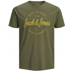 JACK JONES RAFA TEE SS CREW NECK OLIVE NIGHT/SLIM